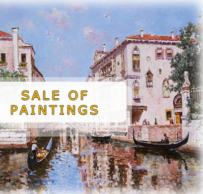 Sale of paintings